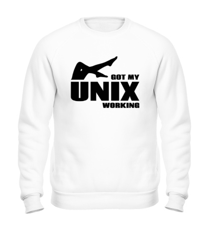 Свитшот Got my unix working