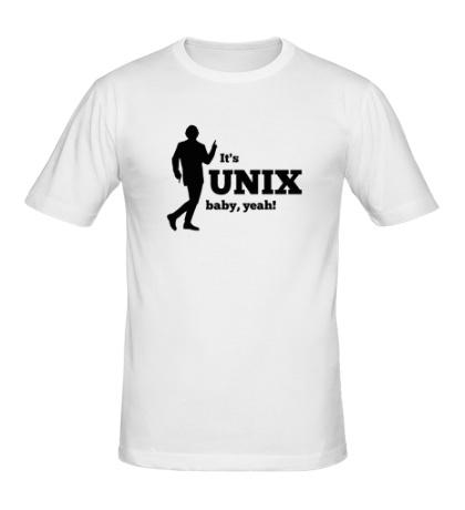 Мужская футболка Its unix baby