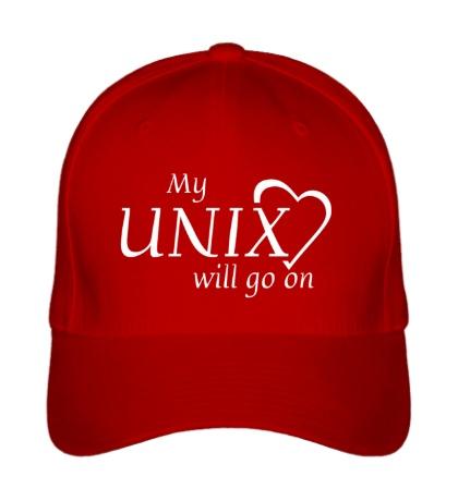 Бейсболка My Unix will go on