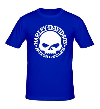 Мужская футболка Harley-Davidson Skull