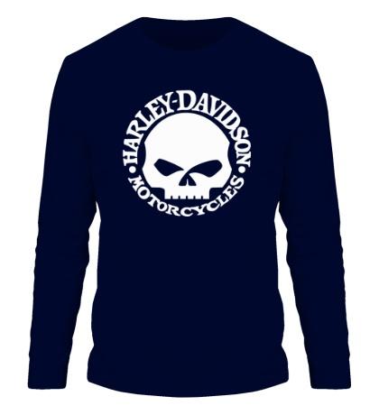 Мужской лонгслив Harley-Davidson Skull
