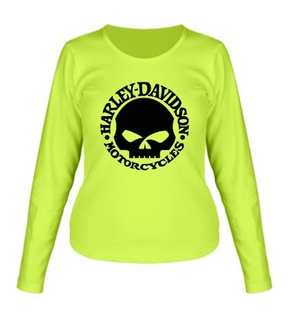 Женский лонгслив Harley-Davidson Skull