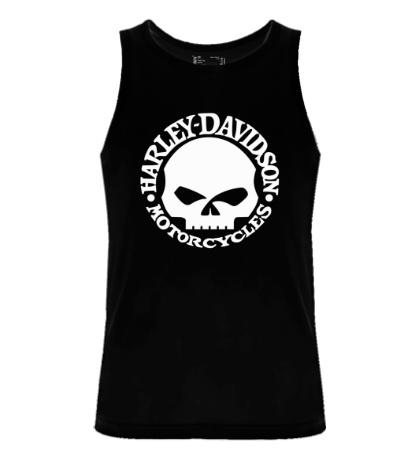 Мужская майка Harley-Davidson Skull