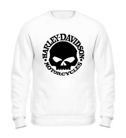 Свитшот Harley-Davidson Skull