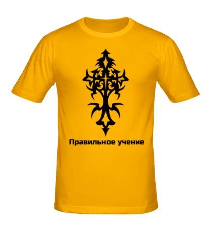 Мужская футболка Правильная религия