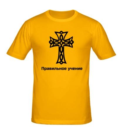 Мужская футболка Правильное учение