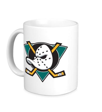 Керамическая кружка HC Anaheim Ducks