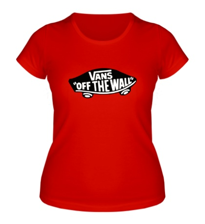 Женская футболка Vans: Off the wall