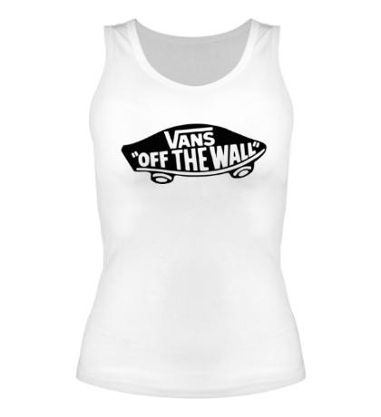 Женская майка Vans: Off the wall