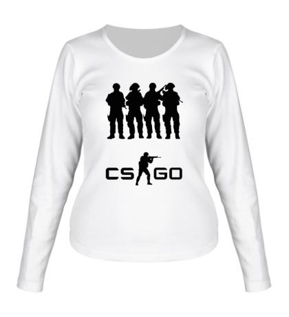 Женский лонгслив CS:GO Teamplay