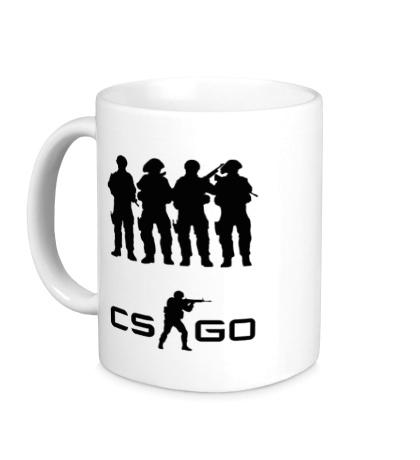 Керамическая кружка CS:GO Teamplay