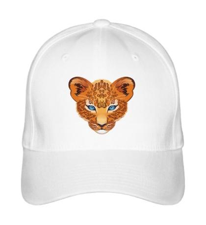 Бейсболка Голова леопарда