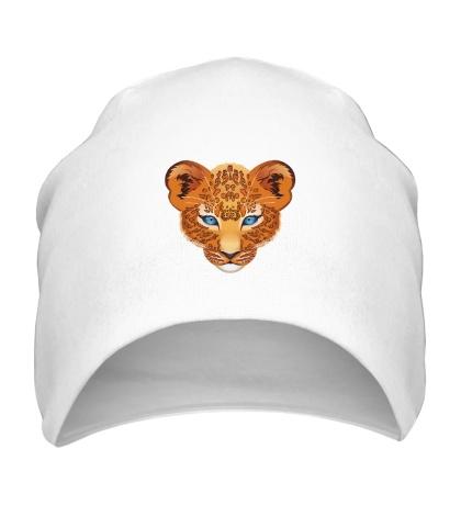 Шапка Голова леопарда