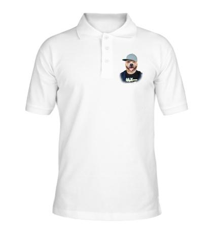 Рубашка поло Модный бульдог