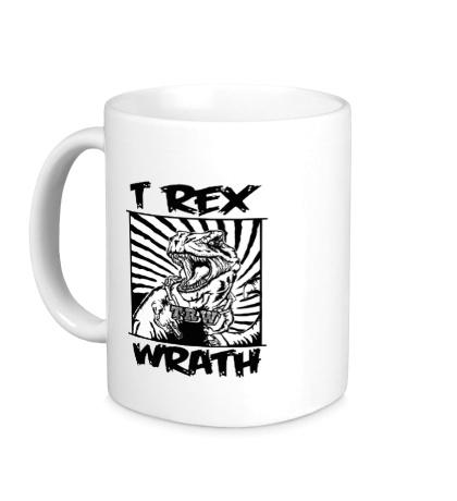 Керамическая кружка T-Rex wrath