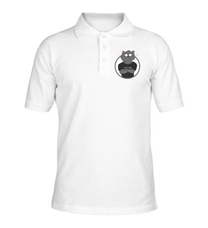 Рубашка поло Я русский кот