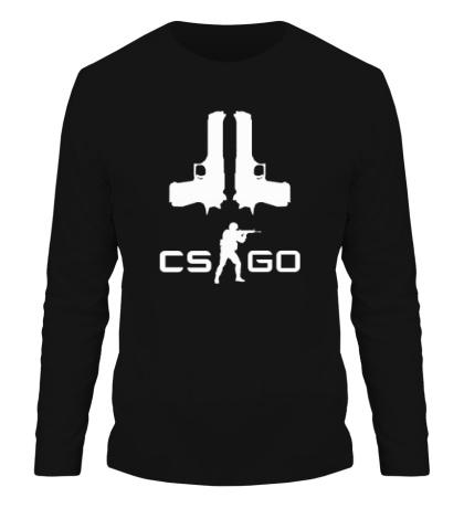 Мужской лонгслив CS:GO Guns