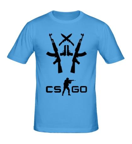 Мужская футболка CS:GO Army