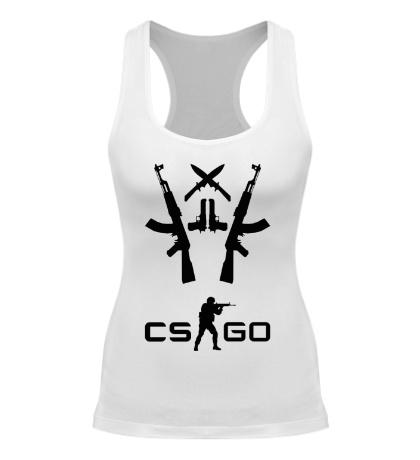 Женская борцовка CS:GO Army