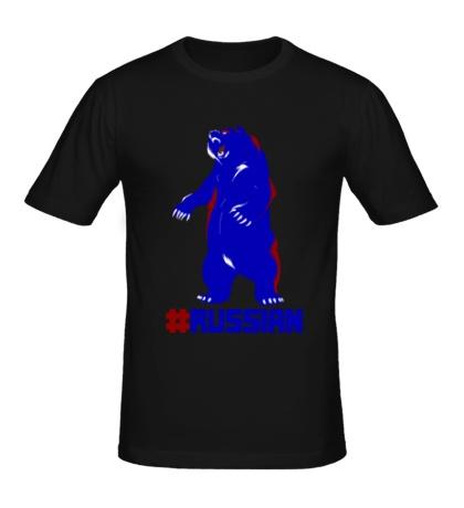 Мужская футболка Russian