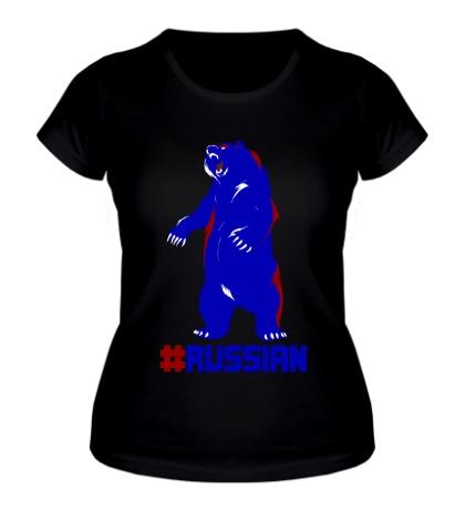 Женская футболка Russian
