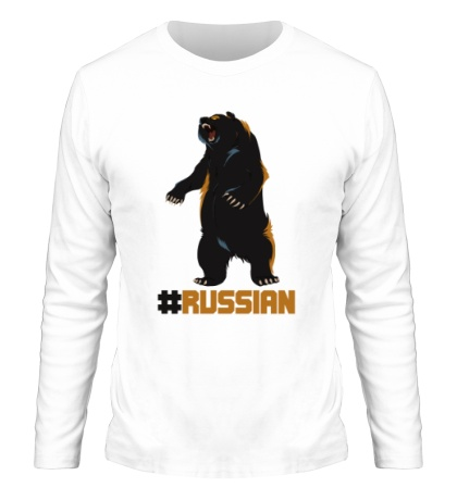 Мужской лонгслив Russian