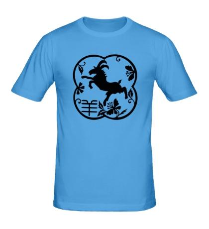 Мужская футболка Символ козла