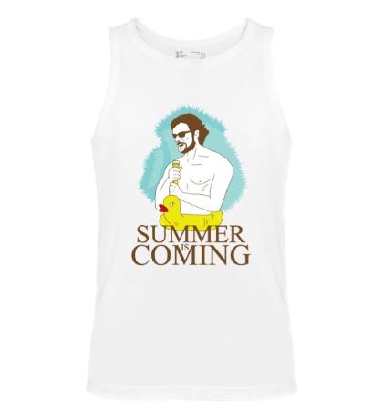 Мужская майка Summer is coming