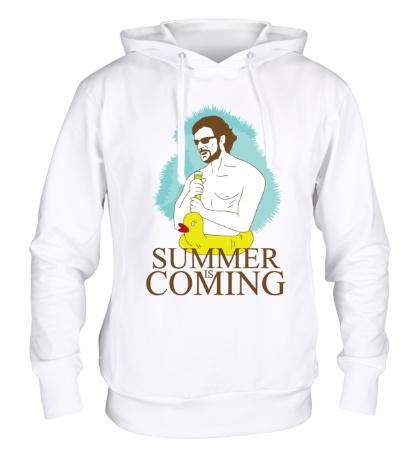 Толстовка с капюшоном Summer is coming