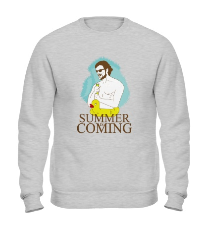 Свитшот Summer is coming