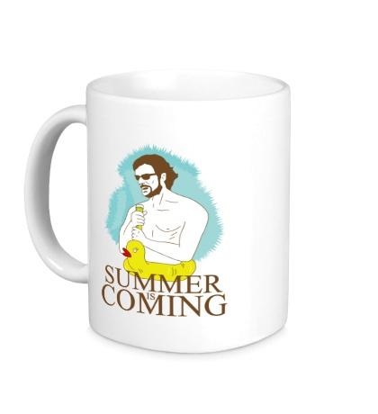 Керамическая кружка Summer is coming