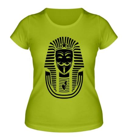 Женская футболка Swag anonymous of Egypt