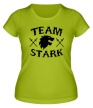 Женская футболка «Team Stark» - Фото 1