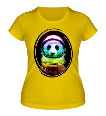 Женская футболка Panda Astronaut