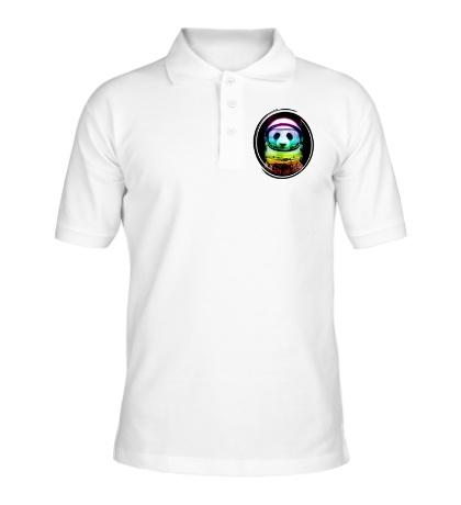 Рубашка поло Panda Astronaut