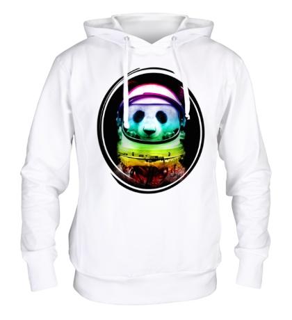 Толстовка с капюшоном Panda Astronaut