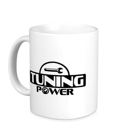 Керамическая кружка Tuning power