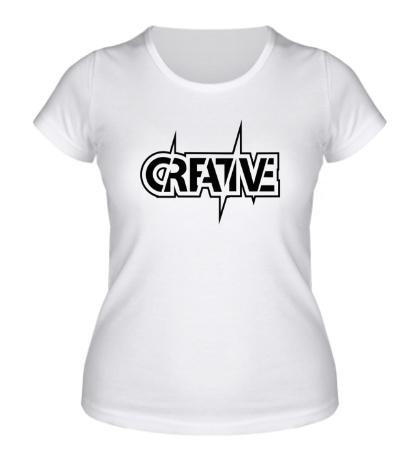 Женская футболка Creative