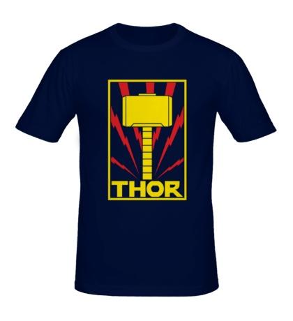 Мужская футболка «Молот Тора»