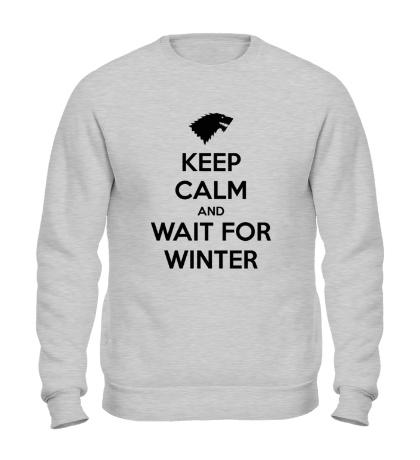 Свитшот Keep Calm & Wait for Winter