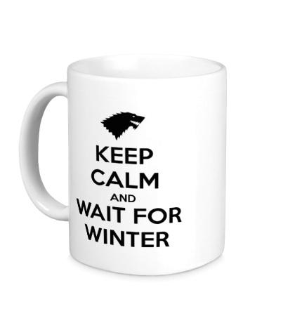 Керамическая кружка Keep Calm & Wait for Winter