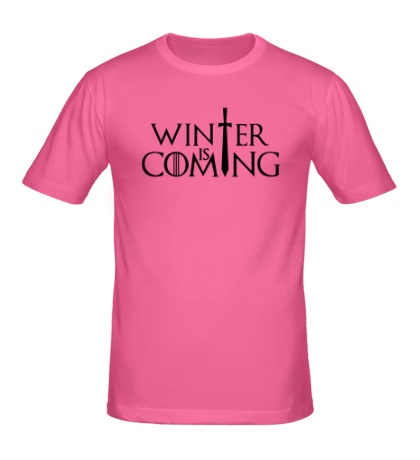 Мужская футболка Winter is Coming: Logo