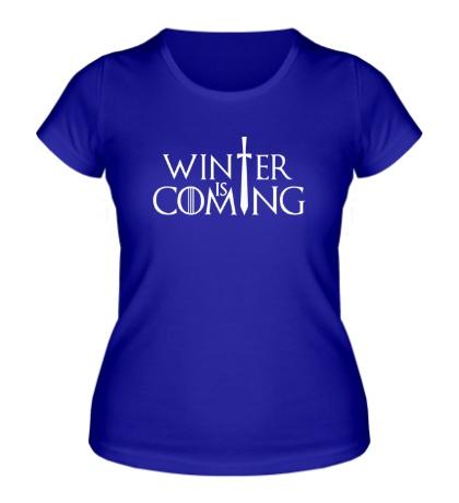 Женская футболка Winter is Coming: Logo