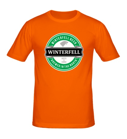 Мужская футболка Winterfell beer
