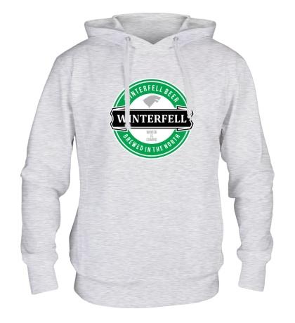 Толстовка с капюшоном Winterfell beer