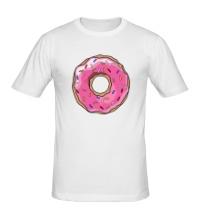 Мужская футболка Пончик Гомера Симпсона