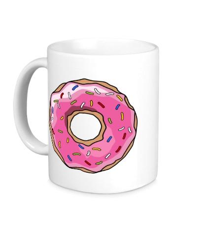 Керамическая кружка Пончик Гомера Симпсона