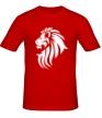 Мужская футболка «Лев тату» - Фото 1