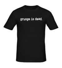 Мужская футболка Grunge is dead