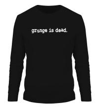Мужской лонгслив Grunge is dead